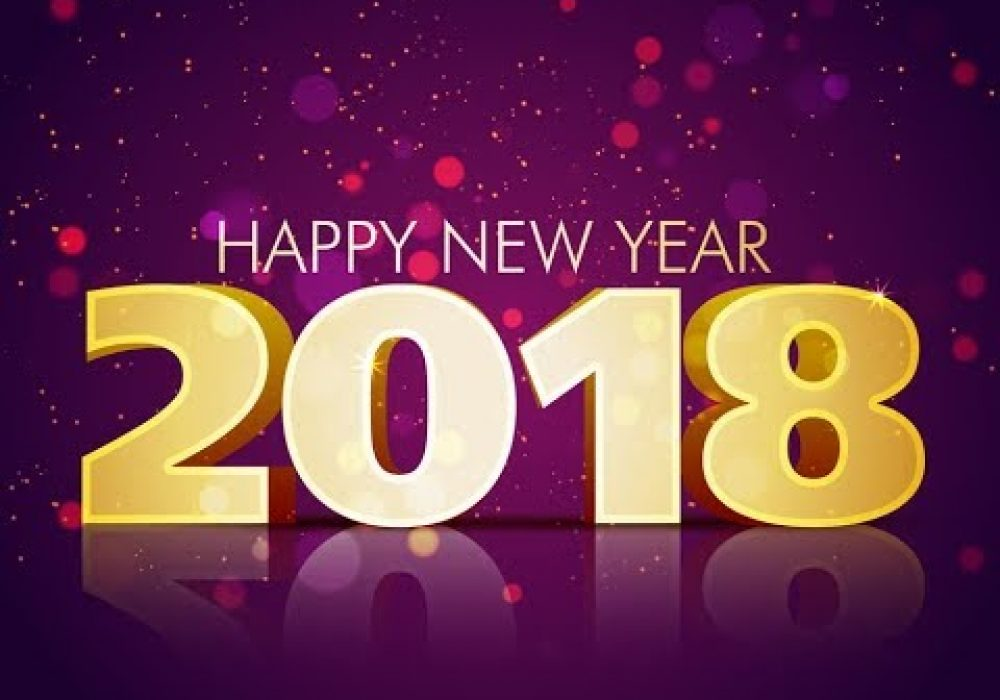 Happy New Year 2018 in 20 Languages